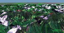 Гора Гнатася. 3D модель