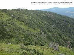 Склоны горы Гнатася