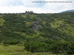 Склоны хребта вблизи горы Гнатася