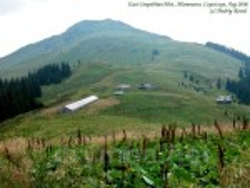 Гора Чивчин та полонина під горою
