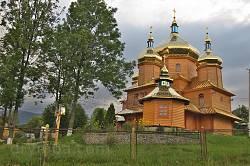 Церква Різдва Богородиці у Ворохті (нова)