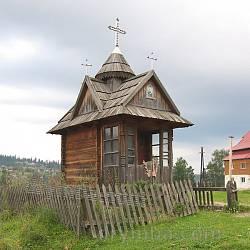 Деревяна капличка у Ворохті