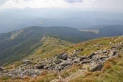 Вид на гору Васкул з вершини Попа Івана