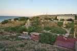 Вірменські церкви поблизу Генуезької фортеці у Феодосії