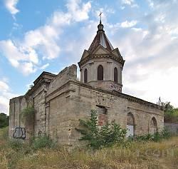 Церква св.Георгія у Феодосії. Вівтарна частина