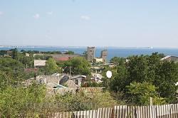 Феодосия. Вид на цитадель от Круглой башни