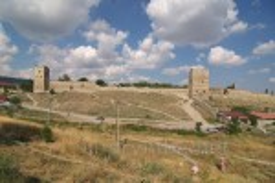 Генуезька фортеця у Феодосії. Загальний вигляд
