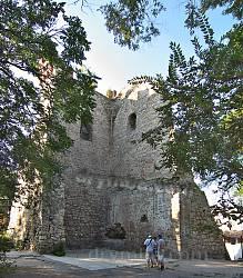 Башта св.Костянтина у Феодосії. Вид зсередини