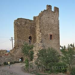 Башта Кріско (Христа). Генуезька фортеця у Феодосії