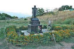 Пам'ятник жертвам більшовицького терору. Феодосія, Карантин.