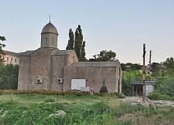 Церква Іверської Божої Матері. Феодосія, Карантин