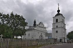 Іллінська церква у Суботові. Вид з дороги.