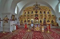 Інтер'єр Іллінської церкви