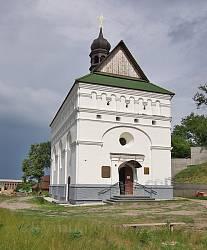 Чигирин. Фасад Петропавлівської церкви