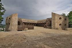 Бастион П.Дорошенко (фрагмент бывшей крепости) в Чигирине