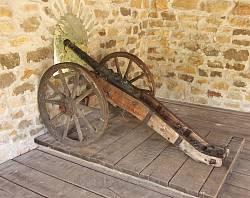 Бастіон Дорошенка у Чигирині. Легка гармата