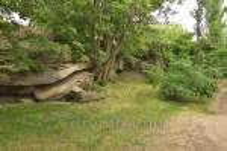 Скелі у Чигиринському парку