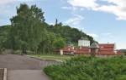 Чигирин. Замкова гора, Петропавлівська церква та резиденція Хмельницького