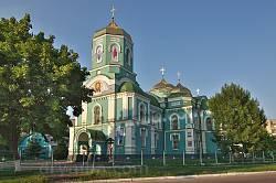 Успенський собор у Золотоноші. Загальний вигляд
