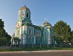 Декор Успенського собору у Золотоноші