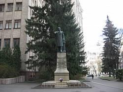 Харьков. Памятник Василию Каразину