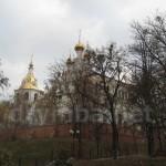 Харків. Вид на Озерянську церкву та оборонну вежу-дзвіницю