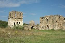 Кельи и надвратная башня (развалины)