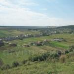 Вид с Подгорянського монастыря на село Семенов