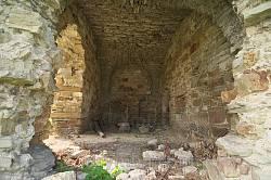 Подгора. Внутри бывших монастырских келий