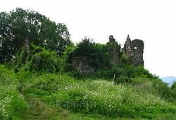 Хуст. Рештки замку