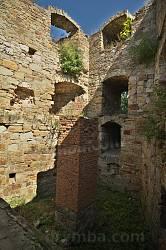 Замок в Теребовле. Внутри восточной башни