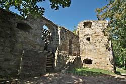 Теребовлянский замок. Ворота