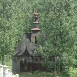 Деревяна каплиця в селі Ільник