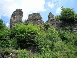 Хуст. Руины замка