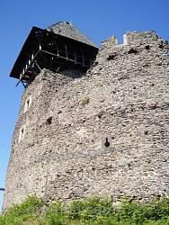 Стены Невицкого замка