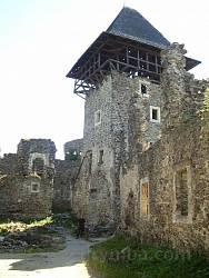 Руїни Невицького замку (двір)