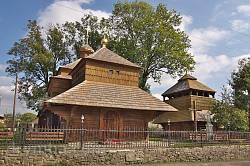 Сколе. Комплекс церкви св.Параскеви