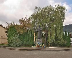 Сколе. Пам'ятник Тарасу Шевченку у центрі міста