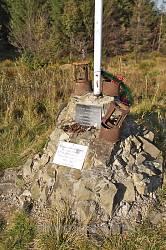 Пам'ятний хрест на місці бою УПА з німцями