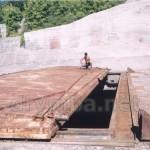 Підземна база тактичних ракет у Балаклаві (кришка пускової шахти)