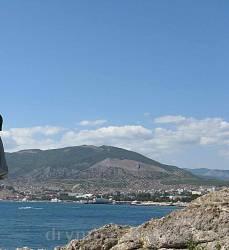 Судак. Вид на місто з півдня