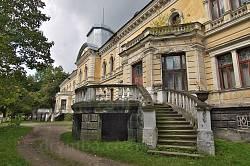 Палац баронів Гредлів у Скольому. Парадні сходи