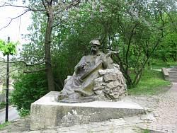 Пам'ятник кобзарю у Чигирині