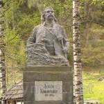Пам'ятник Лук'яну Кобилиці в селі Сергії