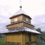 Дзвіниця церкви Св.Михаїла у селі Плав'є