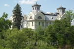 Палац князів Лопухіних. Вид з гори Янталка