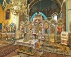Інтер'єр церкви св. Миколая у Розгірче