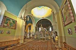 Миколаївська церква у Розгірчому. Інтер'єр