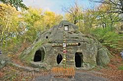 Печерний монастир у селі Розгірче
