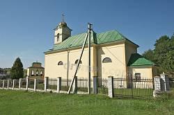 Стільсько. Церква св. Параскеви